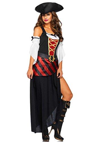 Costume da pirata degli oceani per donna L