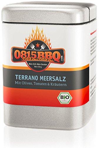 Spicebar Terrano Meersalz, mediterranes Meersalz in Bio Qualität (1 x 70g)