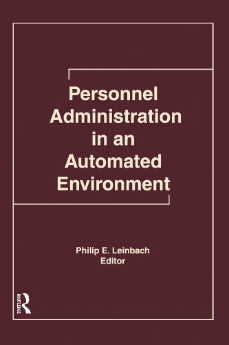 Personnel Administration in an Automated Environment por Philip E Leinbach