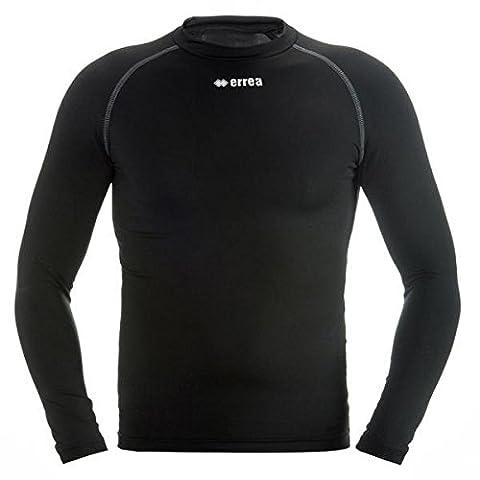 Ermes Fonction T-shirt (faible compression) – Unisexe sous-pull pour adolescents & Adultes – erreà Football & Running etc. – Universal Entraînement & Compétition Blanc Blanc S/M