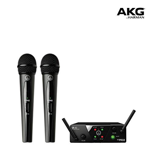 AKG WMS40 Mini Dual Vocal Set - Wireless microphone system