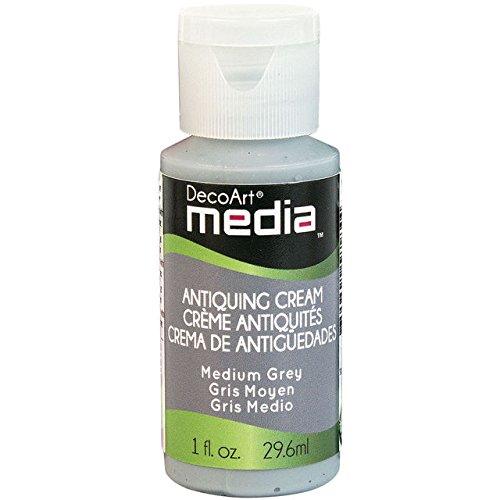 DecoArt–Medium Grau Antike Antike creme (Media)