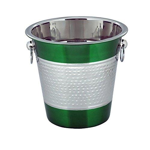 kosma-stainless-steel-champagne-bucket-ice-bucket-wine-bucket-beverage-bucket-in-brilliant-green-col