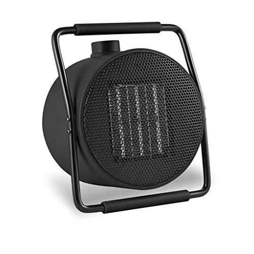 GXDHOME Termoventilatori Termoventilatore, Mini Ceramico Riscaldamento Elettrico Sicuro e Risparmio energetico Inverno Desktop Home Office Bagno R07 (Colore : Nero)