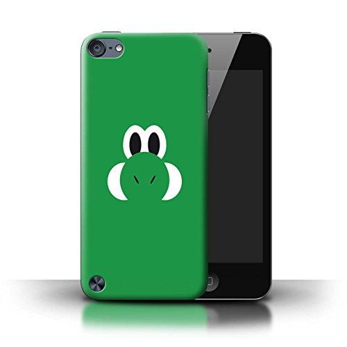 Stuff4® Hülle/Case für Apple iPod Touch 5 / Yoshi/Yossy Inspiriert Muster/Retro-Spiele Figuren Kollektion