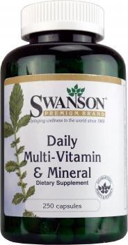 Swanson Daily Multi-Vitamin & Mineral (250 Capsules)