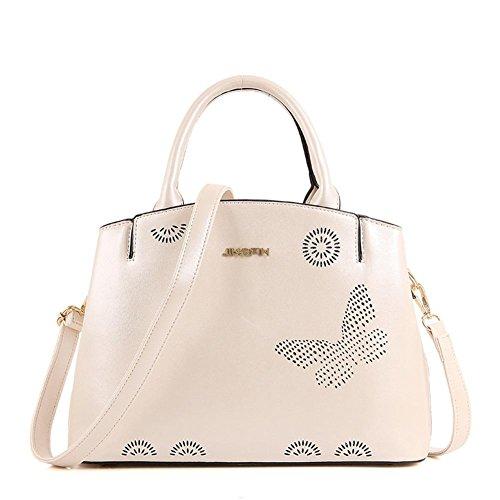 GBT Frau Tasche Handtasche Schultertasche große Tasche Beige