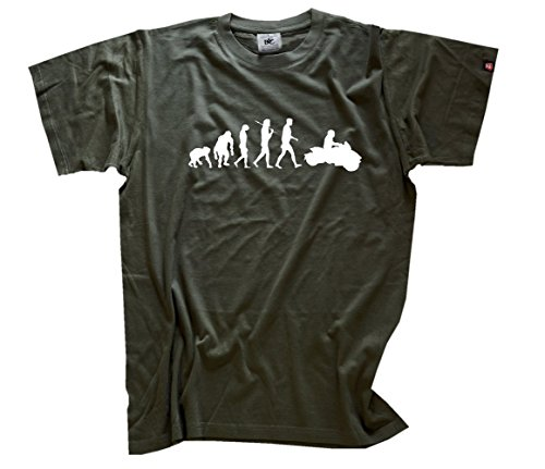 Can Am Spider Canam Motorrad Trike Evolution T-Shirt Olive XXXL (Grünen T-shirt Spider)