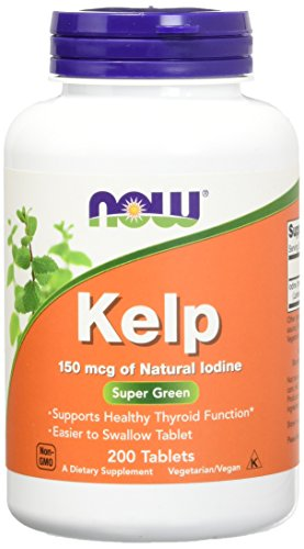 Kelp 150 µg (Jod-Quelle) 200 Tabletten NOW
