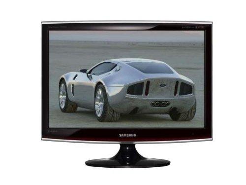 Samsung Syncmaster T200HD 50,8 cm (20 Zoll) Widescreen TFT Monitor schwarz mit DVB-T Tuner, DVI (Kontrast 10.000:1, 5 Ms Reaktionszeit)