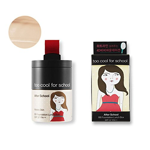 (3 Pack) TOO COOL FOR SCHOOL After School BB Foundation Lunch Box 02 Moist Skin