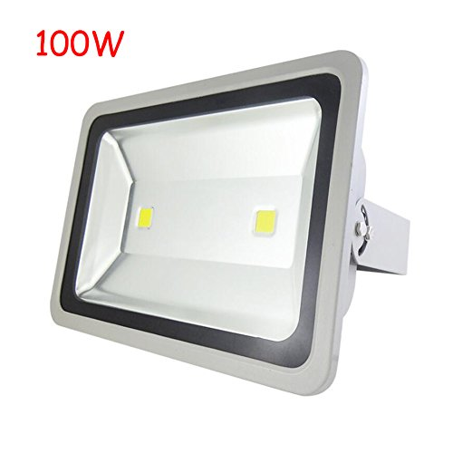 HE-Light LED Flutlicht LED Spot Licht 200 Watt High Power Wasserdichte Rucksack Lichter 120 ° Engineering Beleuchtung Outdoor Einfache Installation (Farbe : Warm white-100W)