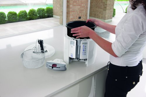 DeLonghi F 26237.W Fritteuse, weiß - 7
