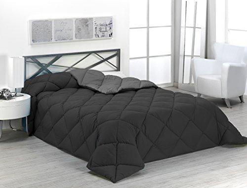 Sabanalia ENBI400-150G/N - Edredón nórdico de 400 g, bicolor, para cama de...