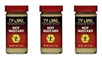 Ty Ling Mustard Chinese Hot 4 oz (Pack of 3)