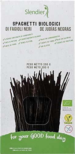 Slendier Spaghetti di Fagioli Neri - 6 Confezioni da 200 g