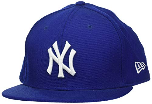 New Era Mlb Basic Ny Yankees 59Fifty Fitted Noir/Blanc - chapeau de Baseball - Homme