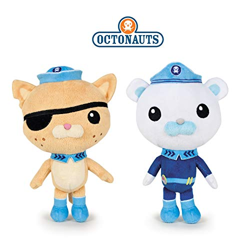 "The Octonauts Captain Barnacles Kwazii 8"" 20cm"