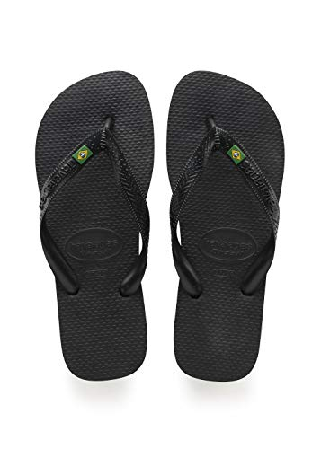 Havaianas Brasil Tongs Mixte Adulte, Noir (Black 0090),...