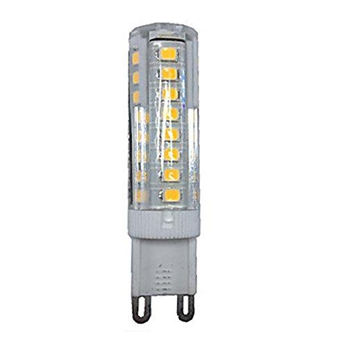 HBR L'ampoule LED G9 5W 51 SMD 2835 a mené des Ampoules économiseuses d'énergie avec la Lampe de maïs menée Superbe Superbe AC200-240V 3000K / 6000K [Classe d'énergie A +] (Couleur : Blanc Chaud)