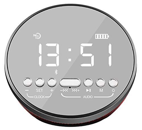 Bluetooth Lautsprecher Mini TF Karte Outdoor FM Radio Freisprechanruf Alarm 5W Kleine Lautsprecher Geschenk - 5w-radio