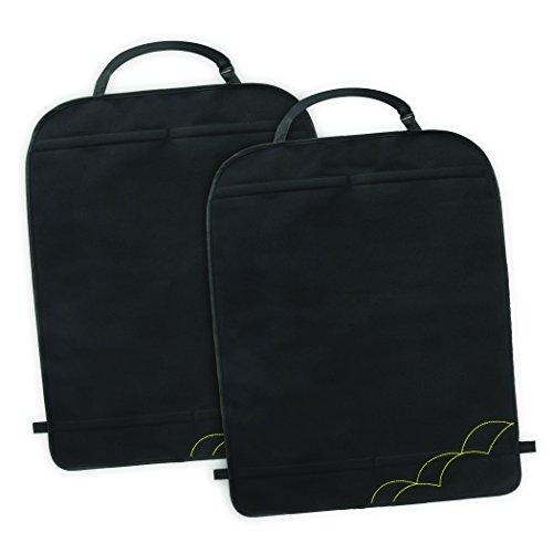Munchkin 012066 tappetini proteggi sedile anteriore per auto, nero