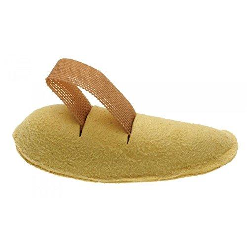 en forme de croissant en peau de chamois orteil Props | confortable élastique Boucle d'orteil