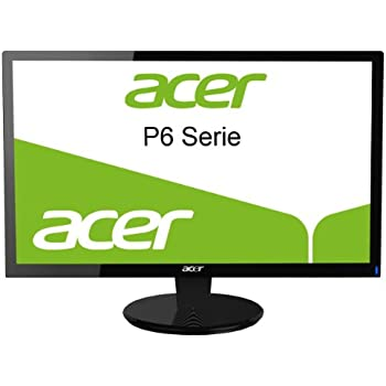 Acer P196HQVBD 47 cm (18.5 Zoll) widescreen TFT Monitor (VGA,DVI, Reaktionszeit 5ms)