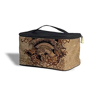 Gladiator luchar o morir cosméticos caja de almacenamiento–maquillaje con cremallera bolsa de viaje