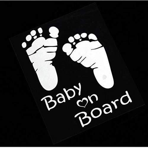 Etiqueta del coche - Bebé a bordo Etiqueta del coche, Tabla...