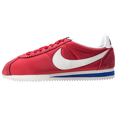 WMNS CLASSIC CORTEZ NYLON PREM UNIVERSITY RED/SAIL-OLD ROYAL