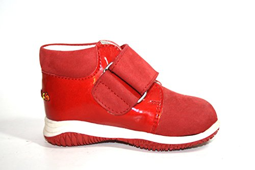 Janosch, Bottes pour Fille Rot (Rot/Weiß)