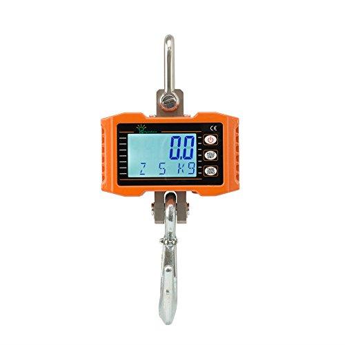 Hyindoor 500kg 1100Lbs Smart Elektronische Crane Maßstab mit Hohe Genauigkeit Elektronische Hängewaage Digital Haken Hängewaage