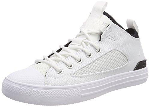 Converse Unisex-Erwachsene CTAS Ultra OX White/Black Hohe Sneaker Mehrfarbig 102, 48 EU