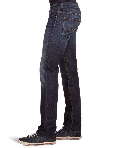 7 for all mankind Herren Straight Leg Jeanshose Standard Blau (New York Dark NY)