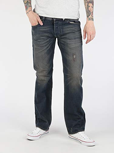 Diesel Herren Jeans Hose Larkee Regular Straight 0R33U (W31/L32, Blau) - Diesel Hose