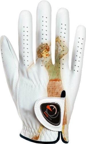 EASY GLOVE Damen Classic_Thirty Mrh Golfhandschuhe Linkshänder, Mehrfarbig, M (Leder Linkshänder Golf Handschuh)