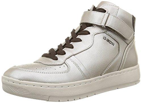 Geox D Nimat A, Sneakers Hautes femme Blanc Cassé (C9H6M/V Per Bot/Ver Sin)