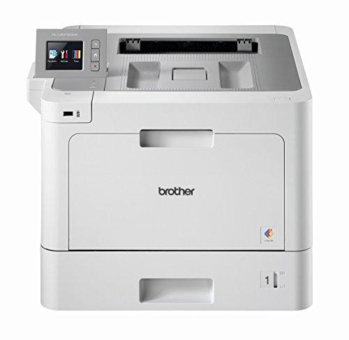 Brother HL-L9310CDW W-LAN Farblaserdrucker mit Duplex (2400 x 600 dpi, 31 Seiten/Min.) weiß/grau