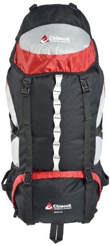 Rucksack Interne Abdeckung Frame (Chinook Shasta interne Rahmen Expedition Pack, rot, 75-Liter)