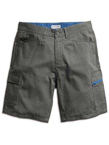 Etnies Inlett-Pantaloncini Cargo da uomo Grigio (Charcoal) W32