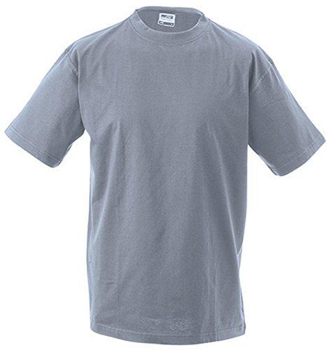JN800 Workwear-T Men Strapazierfähiges klassisches T-Shirt Greyheather