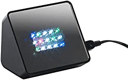 VisorTech Einbruchschutz: Premium-TV-Simulator zur Einbrecher-Abschreckung mit 15 LEDs und Sound (TV Imitation)