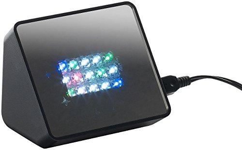 VisorTech Anwesenheitssimulator: Premium-TV-Simulator zur Einbrecher-Abschreckung mit 15 LEDs und Sound (Fernsehattrappe)