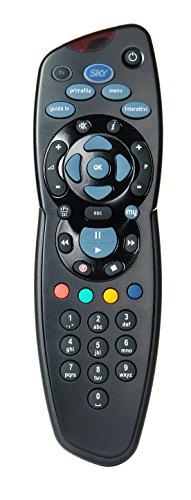 Telecomando MySKY, Comprensivo di 2 Batterie Duracell, Funziona con il Decoder Digitale MySky e con Sky HD, Autentici SKY715