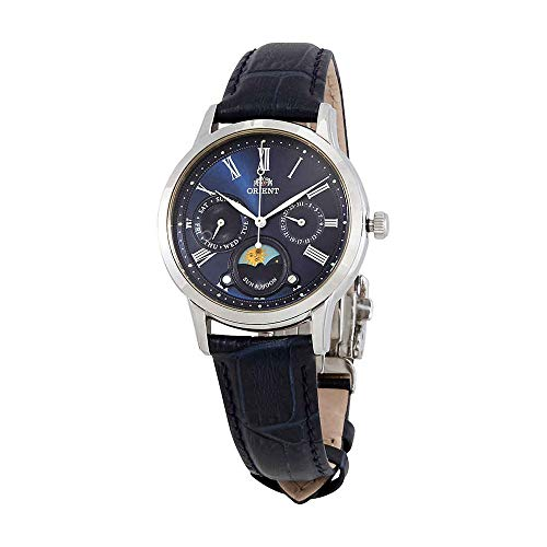 Orient Sun and Moon Blue Dial Ladies Watch RA-KA0004L10B