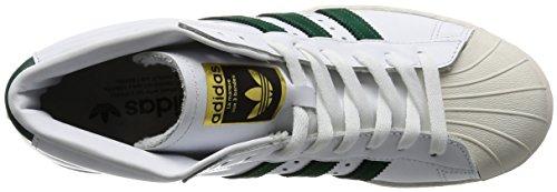 adidas Pro Model 80s Schuhe Weiß Grün