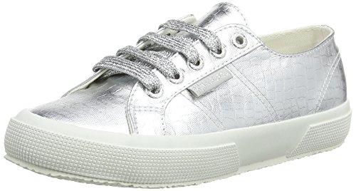Superga Grau Cotmetembossedcoccow Sneaker Damen 2750 rgBwYr6qW