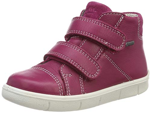 Superfit Baby Mädchen Ulli Sneaker, Rot (Rot 50), 24 EU