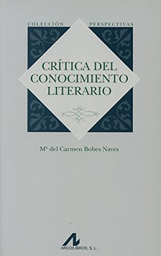 Crítica del conocimiento literario
